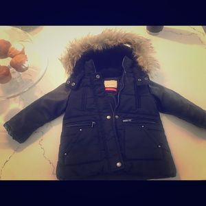 Zara girls parka 4T